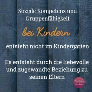 Wie früh sollte dein Kind in den Kindergarten