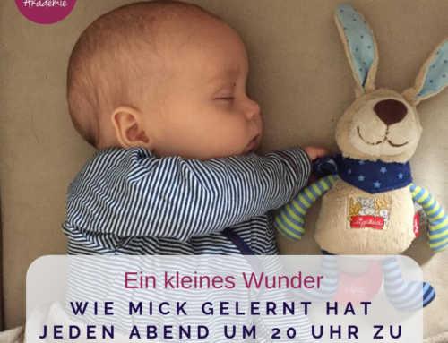 193 Schlafzeiten Baby – Wie Mick gelernt hat jeden Abend um 20 Uhr zu schlafen