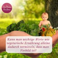Kinder vegetarisch erziehen