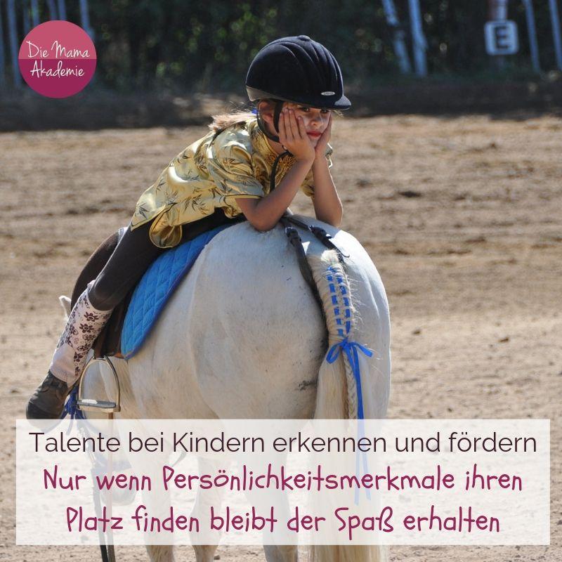 Talente beim Kind erkennen