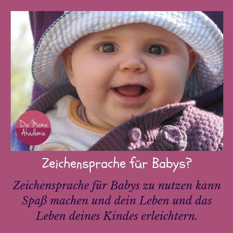 Zeichensprache für Babys