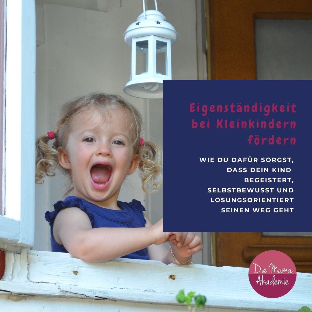 Eigenständigkeit bei Kleinkindern fördern