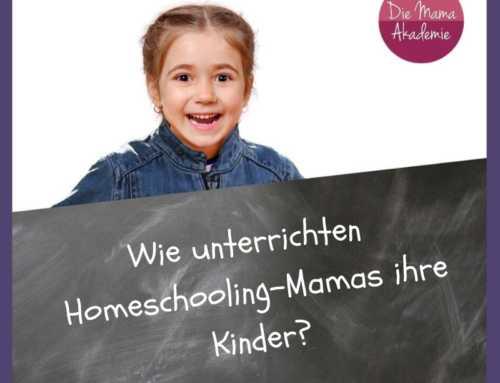 Wie unterrichten Homeschooling-Mamas ihre Kinder?
